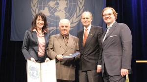 Verleihung der Otto-Hahn-Friedensmedaille an den Dirigenten Daniel Barenboim
